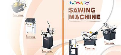 2018 Sawing Machine Catalogue