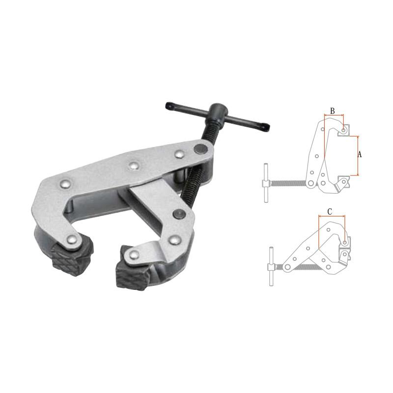 CANTILEVER C-CLAMPS (LIGHT DUTY SERIES)