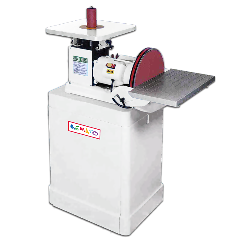 OSCILLATING VERTICAL SPINDLE SANDER & DISC SANDER