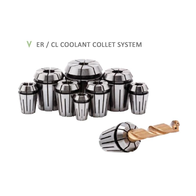 ER / CL COOLANT COLLET SYSTEM