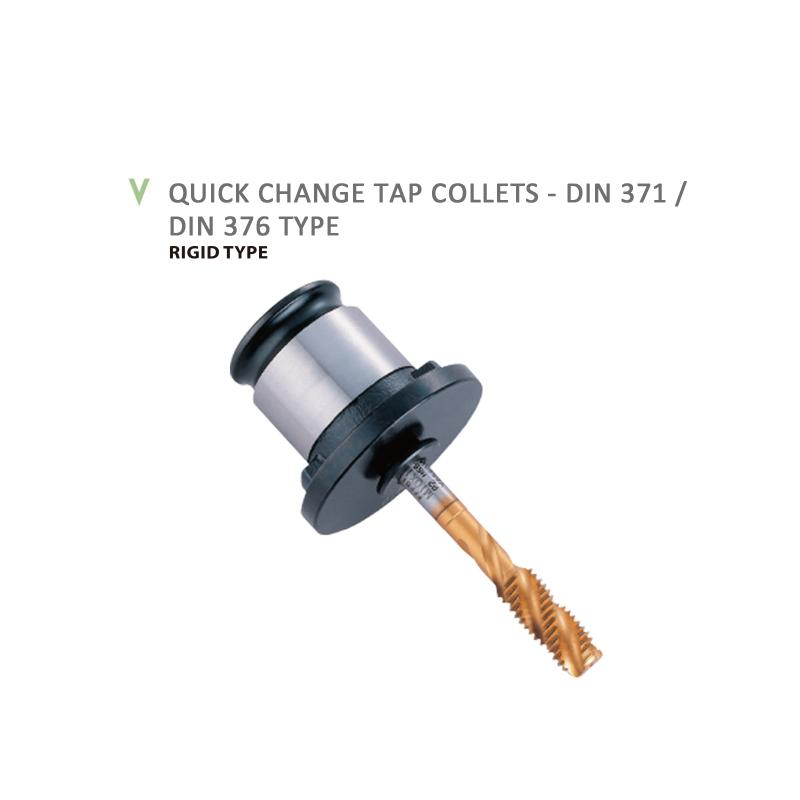 QUICK CHANGE TAP COLLETS - DIN 371 / DIN 376 TYPE