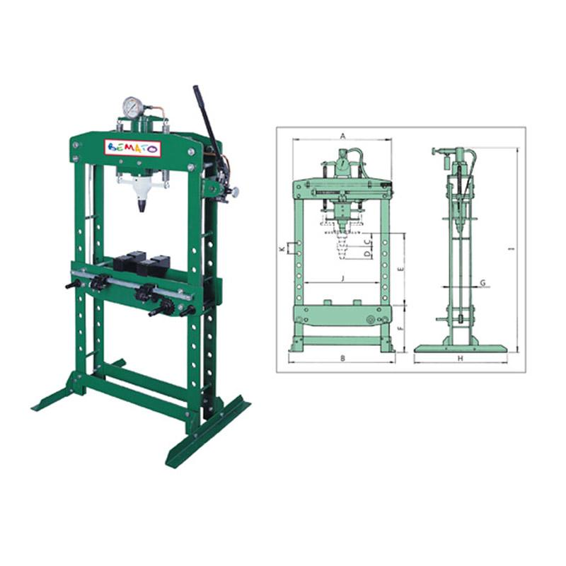ECONOMY MANUAL HYDRAULIC PRESS