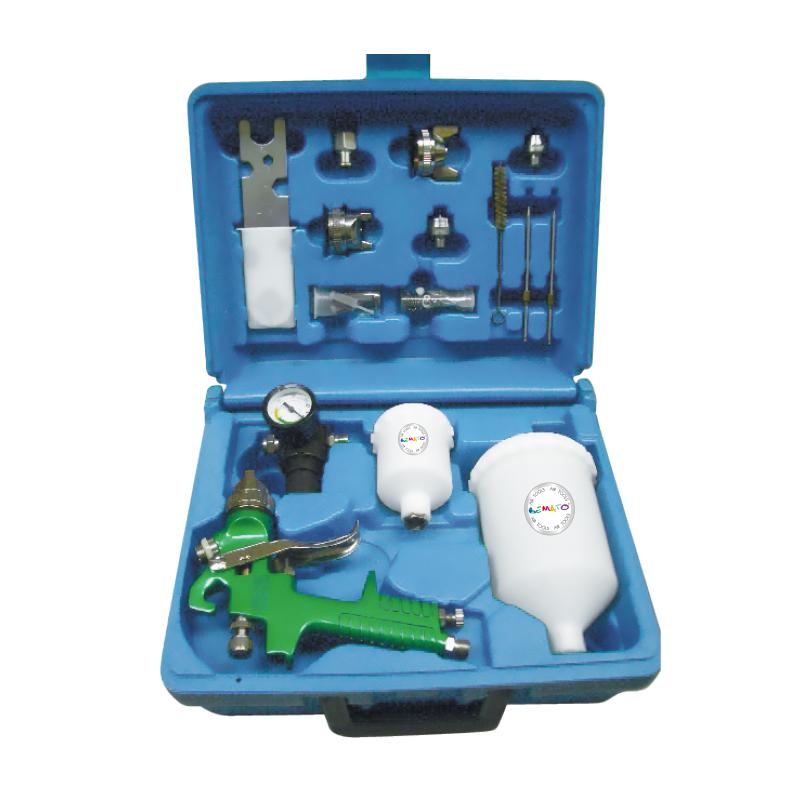 DELUXE AIR SPRAY GUN KIT