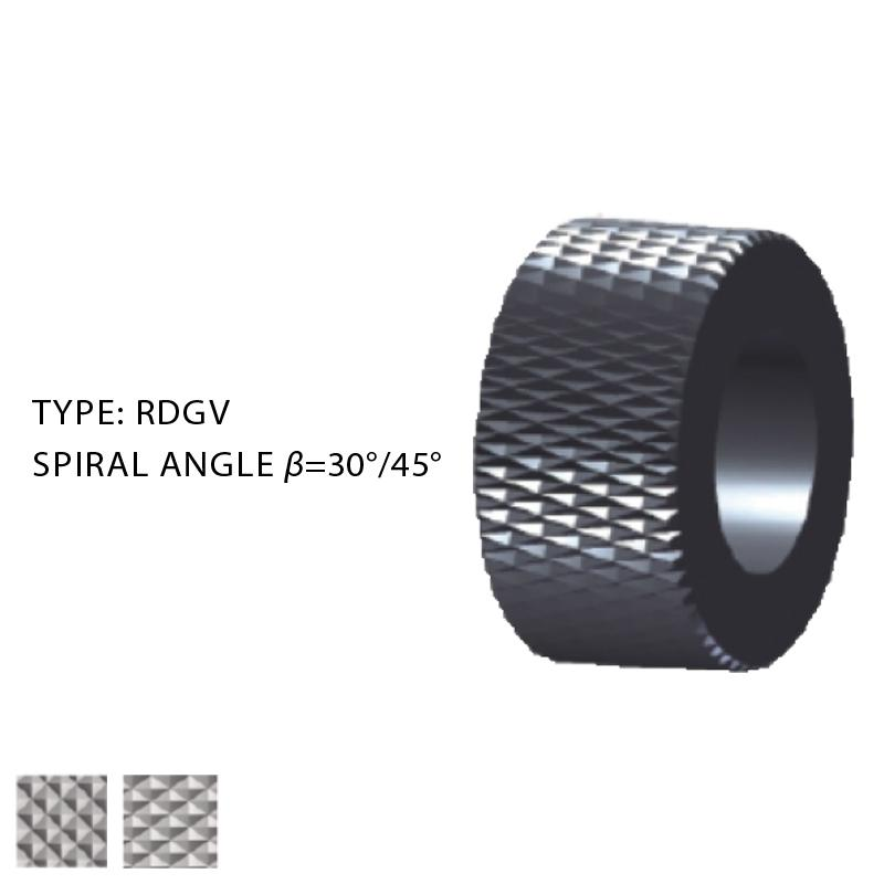 ROLLS FOR KNURLING BY DEFORMATION