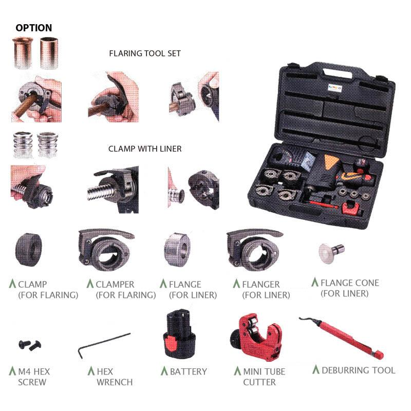 ELECTRIC FLARING TOOL KITS