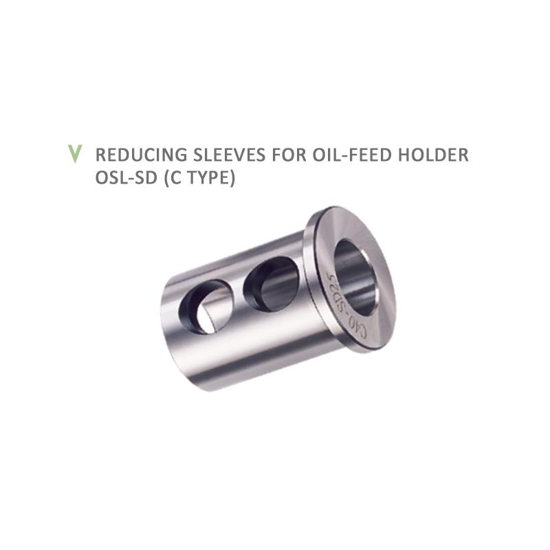 REDUCING SLEEVES FOR OIL-FEED HOLDER OSL-SD (C TYPE)
