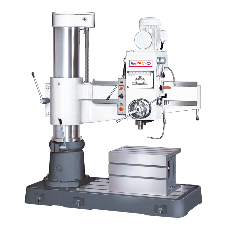 RADIAL DRILL (FLOOR TYPE, MECHANICAL CLAMPING)