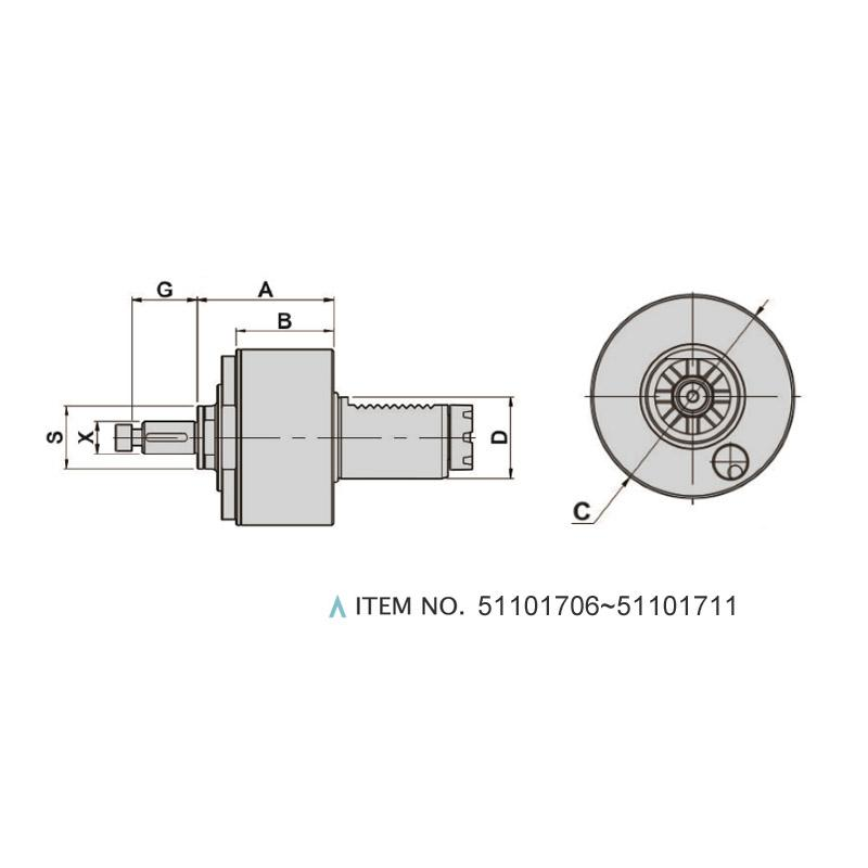 AXIAL SHELL END MILLING CUTTERS (0°)