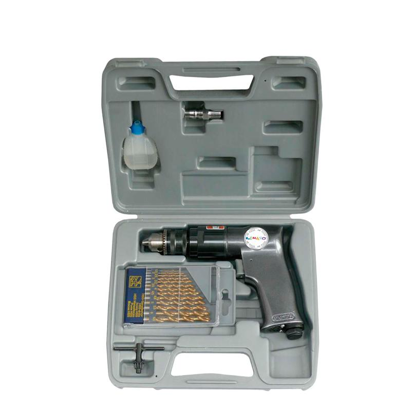 "3/8"" AIR DRILL KIT (18PCS)"