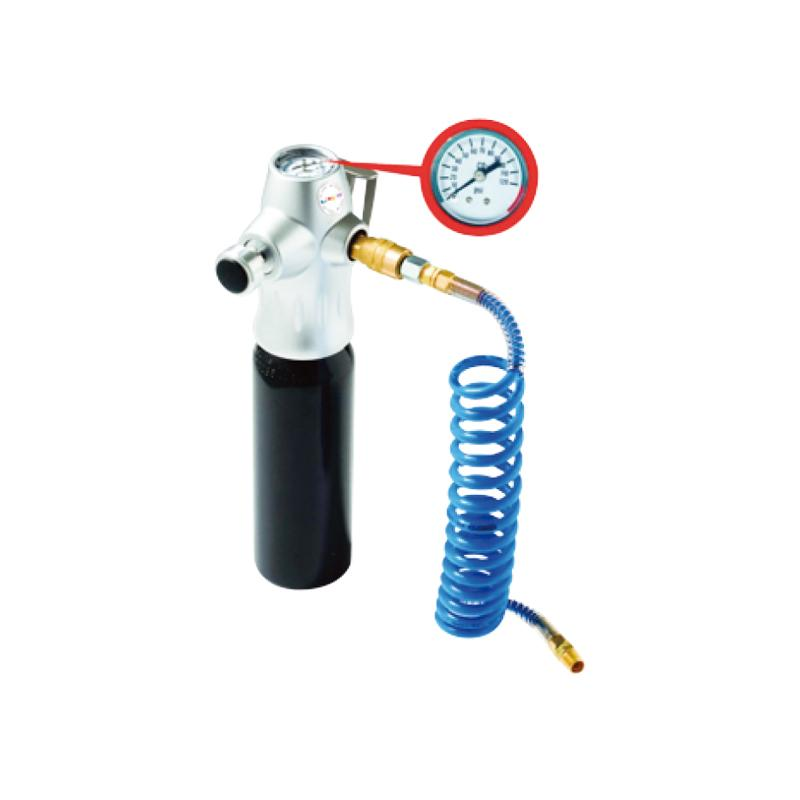 PORTABLE COMPRESSED CO2 REGULATOR