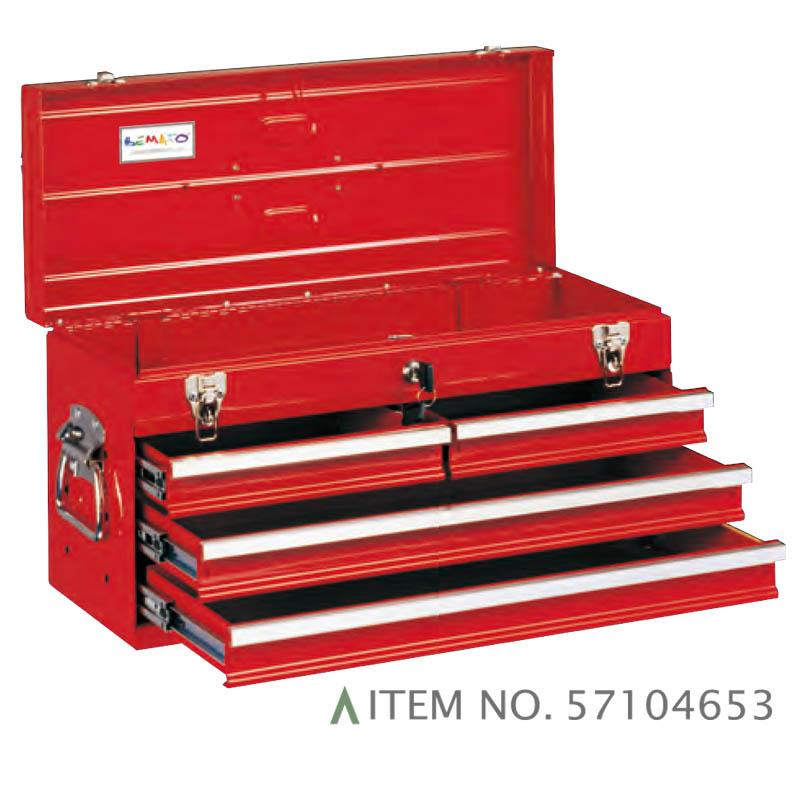 4-DRAWER PORTABLE TOOL CHEST BALL BEARING SLIDES