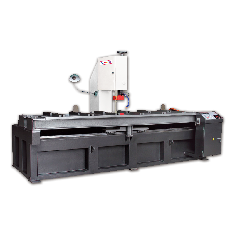 VERTICAL BLOCK / PLATE BAND SAWING MACHINE