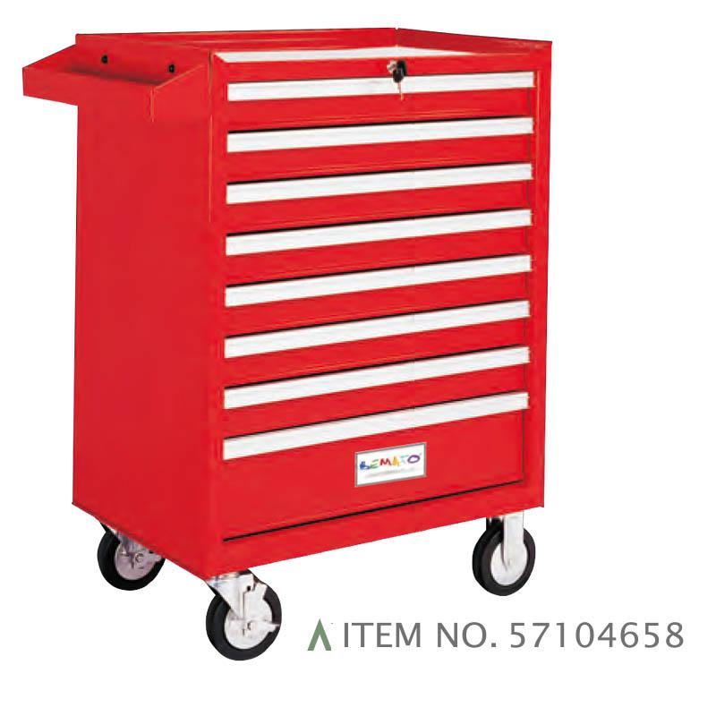 8-DRAWER ROLL-WAGON BALL BEARING SLIDES