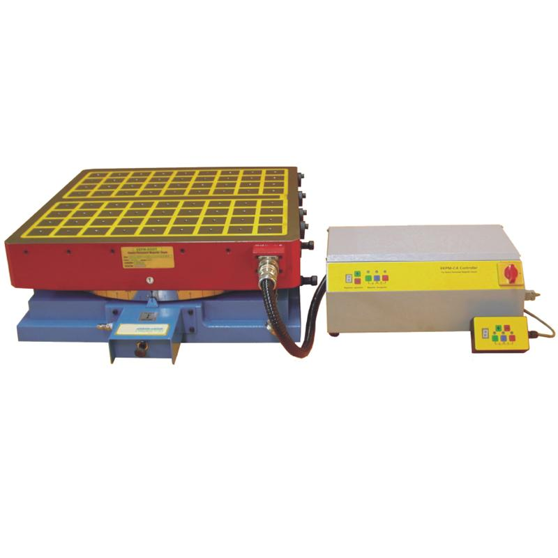 ELECTRO-PERMANENT MAGNETIC INDEX TABLES SUITABLE  FOR HORIZONTAL MILLING & BORING MACHINE ...