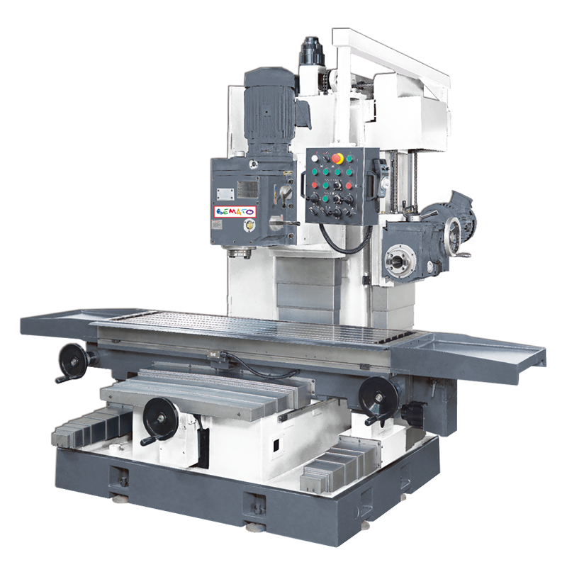 VERTICAL & HORIZONTAL MILLING MACHINE - BED TYPE