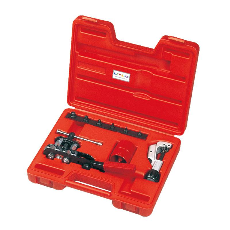 DOUBLE FLARING, TUBE CUTTER & DEBURRING TOOL KIT