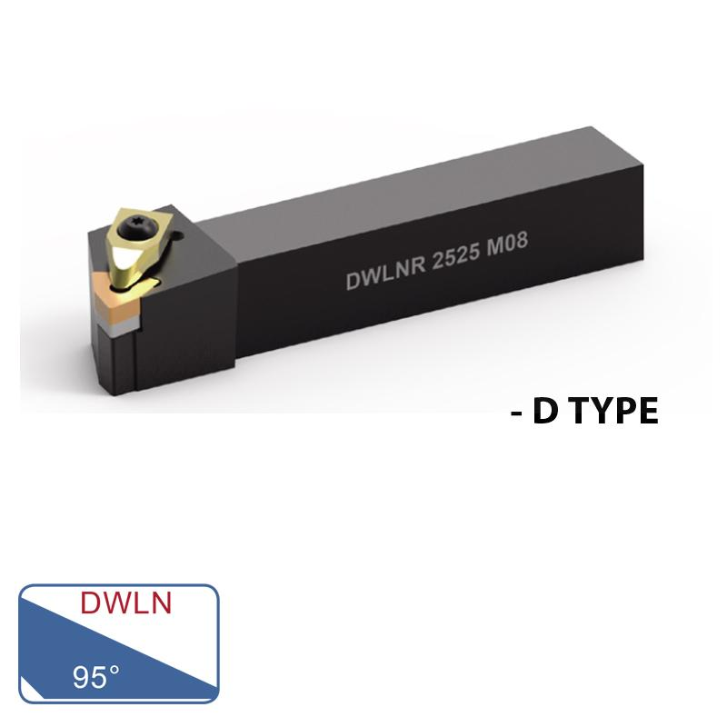 EXTERNAL TURNING TOOLS (DWLN 95°- D TYPE)