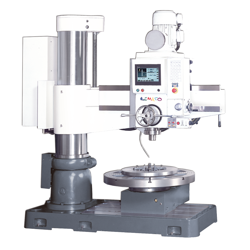 NC RADIAL DRILL (FLOOR TYPE, HYDRAULIC CLAMPING)