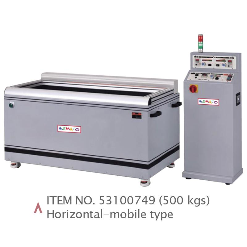 MAGNETIC DE-BURRING & POLISHING MACHINE