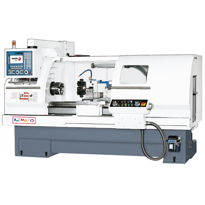 CNC LATHE FLAT BED TYPE