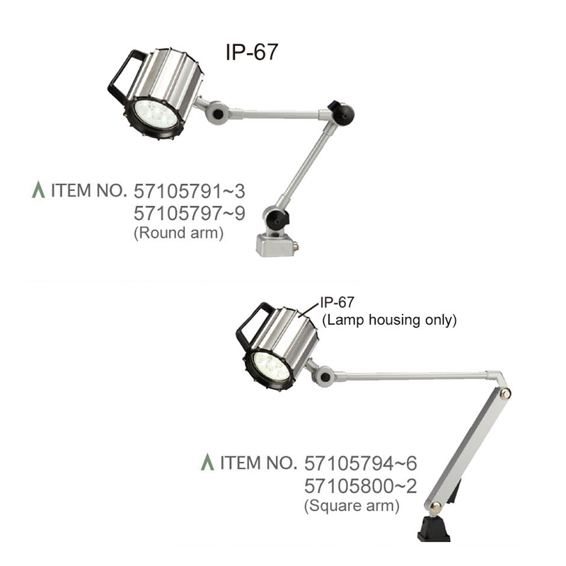 WATER PROOF LED WORK LIGHTS