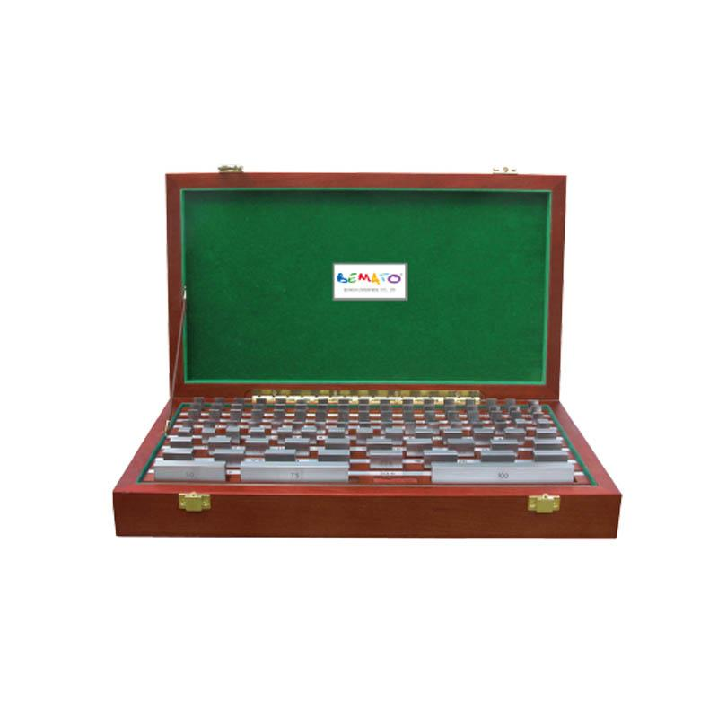 RECTANGULAR METRIC HIGH SPEED STEEL GAUGE BLOCK SETS - FOR INSPECTION OR WORKSHOP