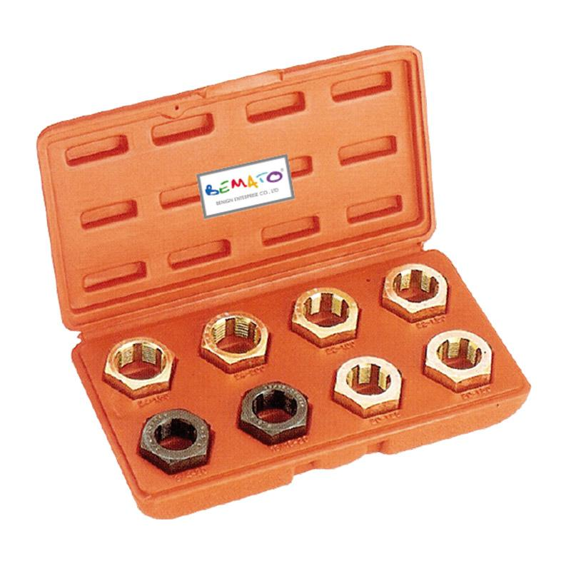 BRAKE TOOLS - AXLE SPINDLE RETHREADING SET