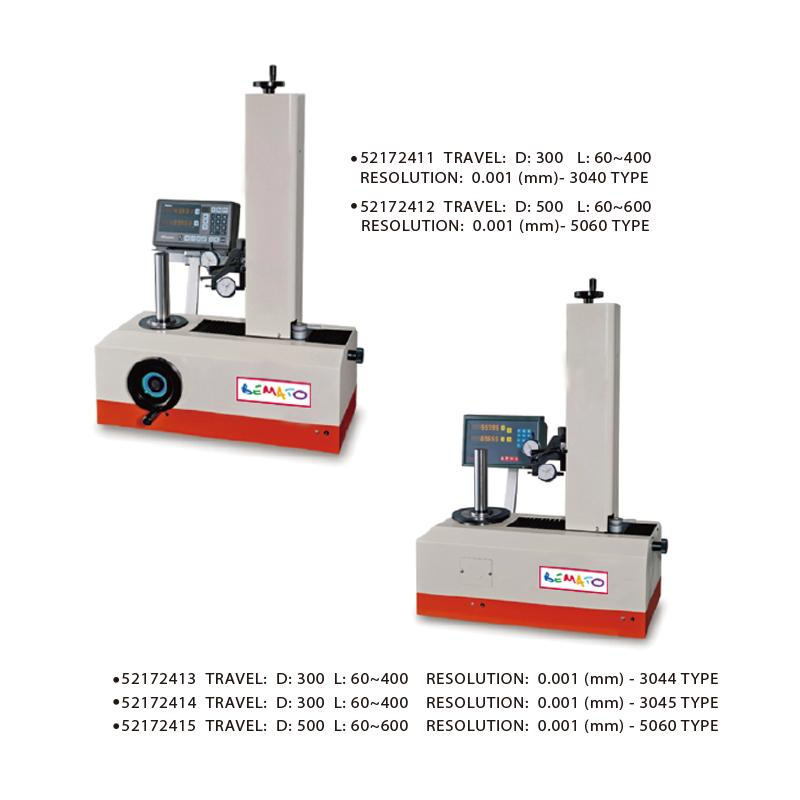 TOOL PRESETTERS - ROTATING SPINDLE