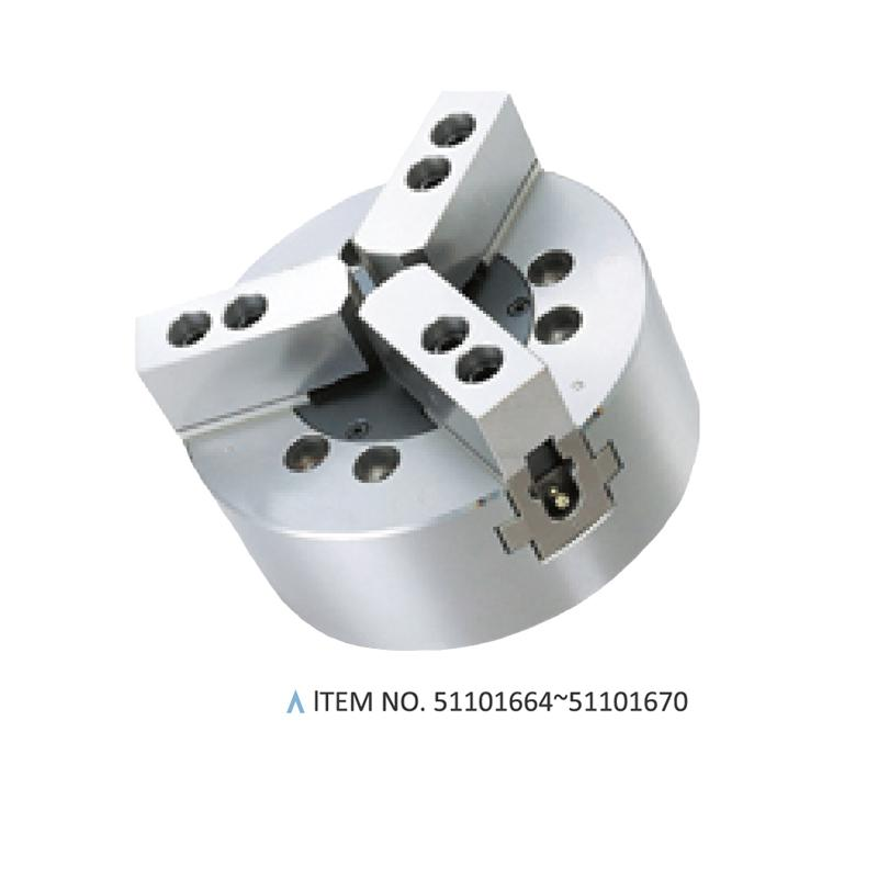 3-JAW A2 TYPE HYDRAULIC CHUCKS (SOLID)
