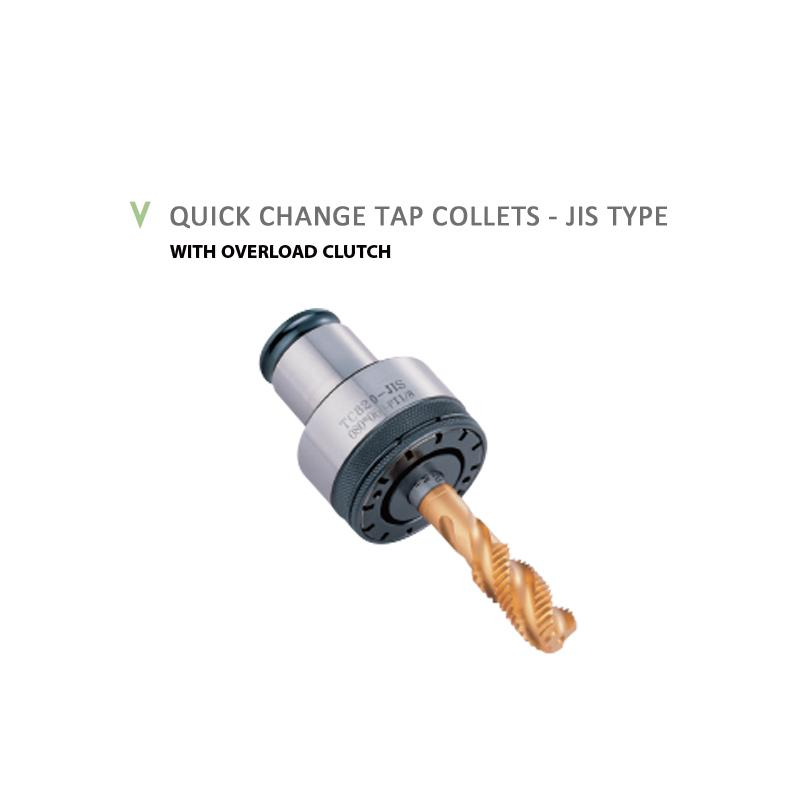 QUICK CHANGE TAP COLLETS - JIS TYPE
