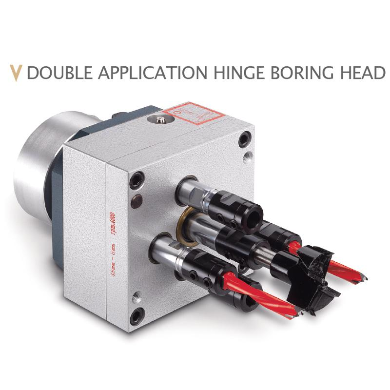 MULTIPLE SPINDLE BORING HEADS FOE WOOD