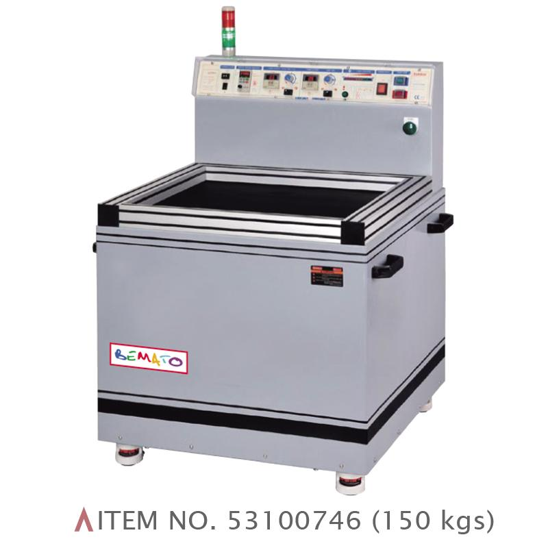 MAGNETIC DE-BURRING POLISHING MACHINE
