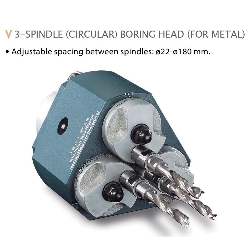 MULTIPLE SPINDLE BORING HEADS FOR METAL