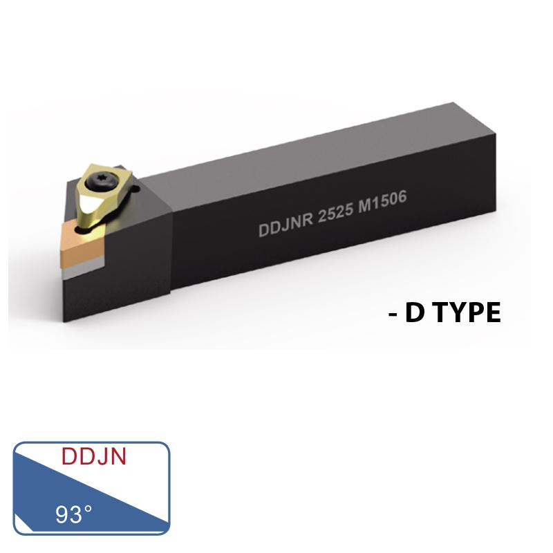 EXTERNAL TURNING TOOLS (DDJN 93°- D TYPE)
