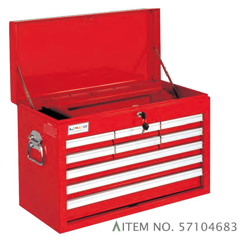 9-DRAWER B TYPE TOP CHEST BALL BEARING SLIDES