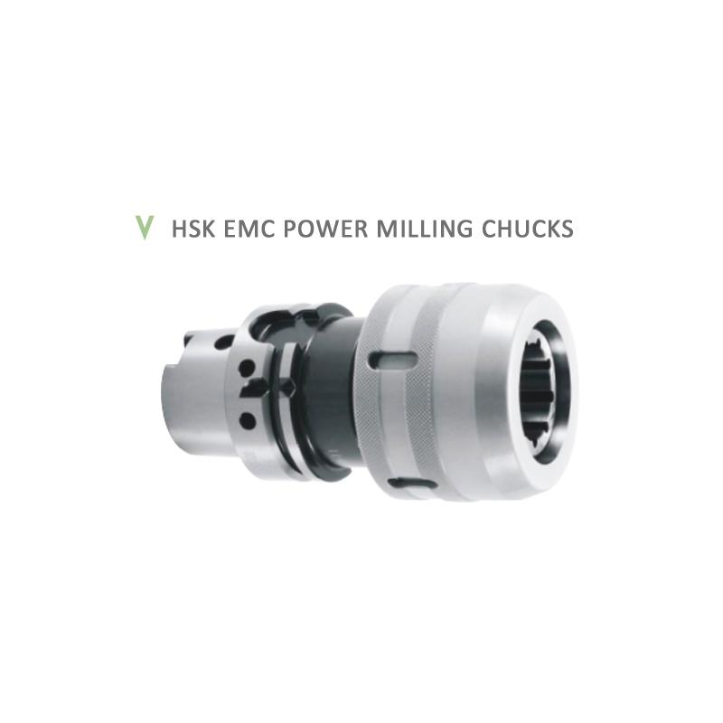 HSK EMC POWER MILLING CHUCKS