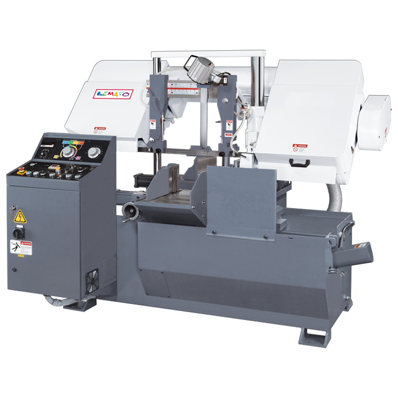 FULLY AUTOMATIC DOUBLE COLUMN BANDSAW