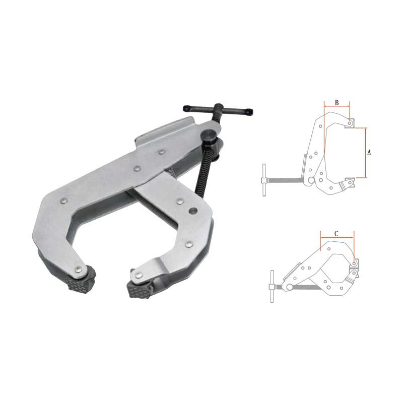 CANTILEVER C-CLAMPS (HEAVY DUTY SERIES)
