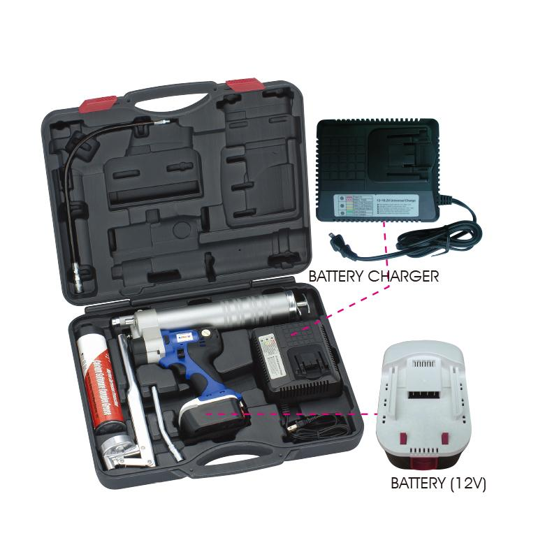 CORDLESS GREASE GUN KIT