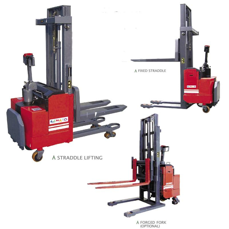 POWERED PALLET STACKERS