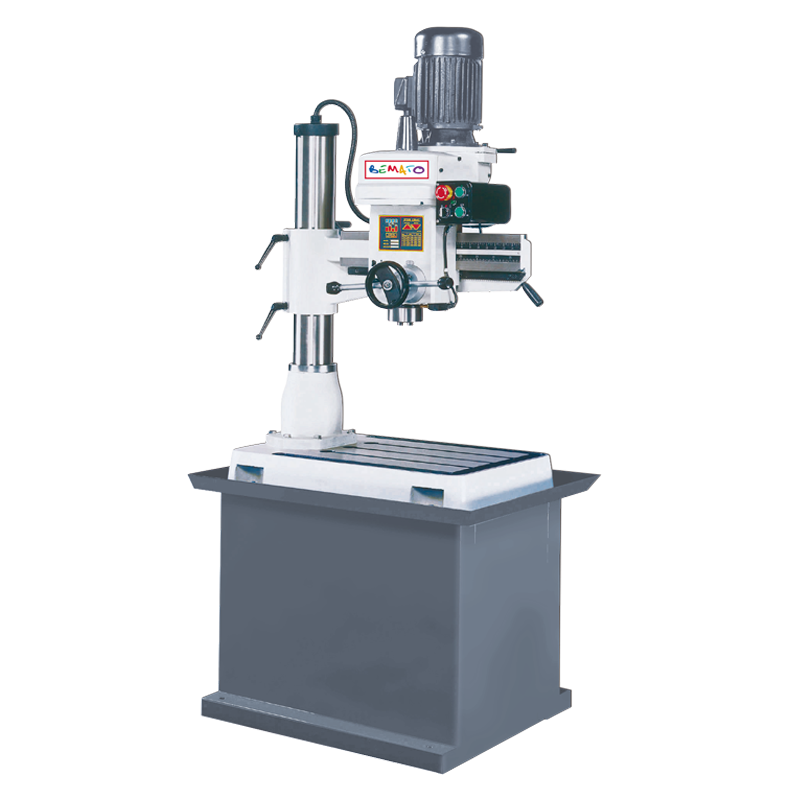 RADIAL DRILL (BENCH TYPE, MECHANICAL CLAMPING)
