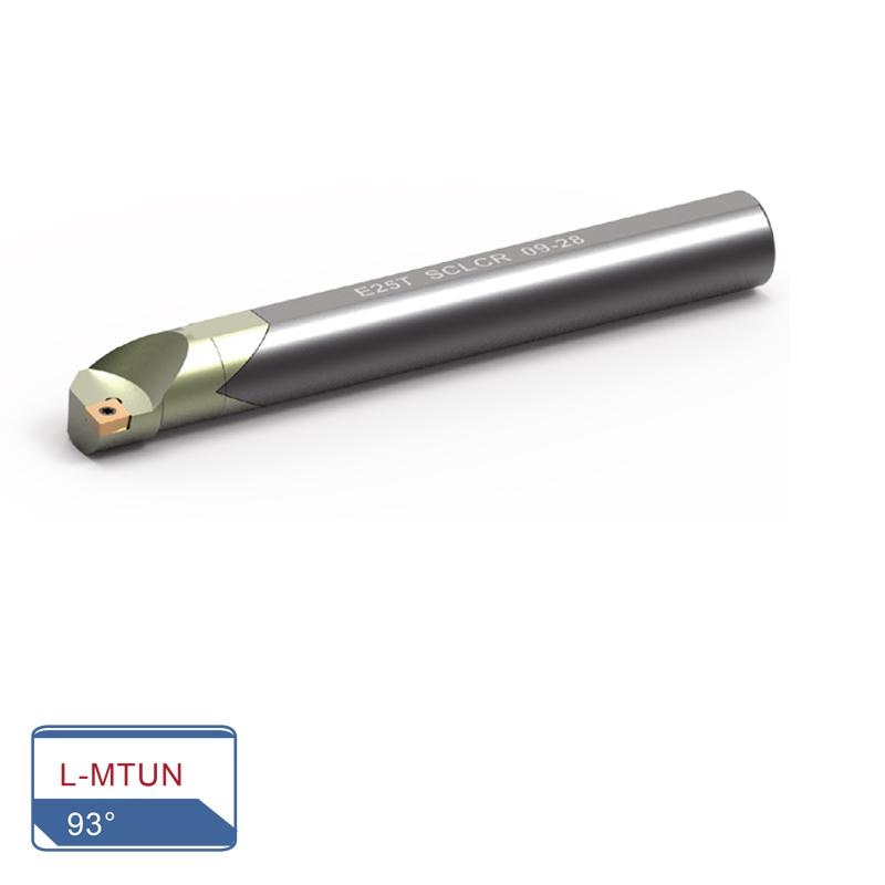 BORING BARS - ANTI-VIBRATIC TYPE (L-MTUN 93°)