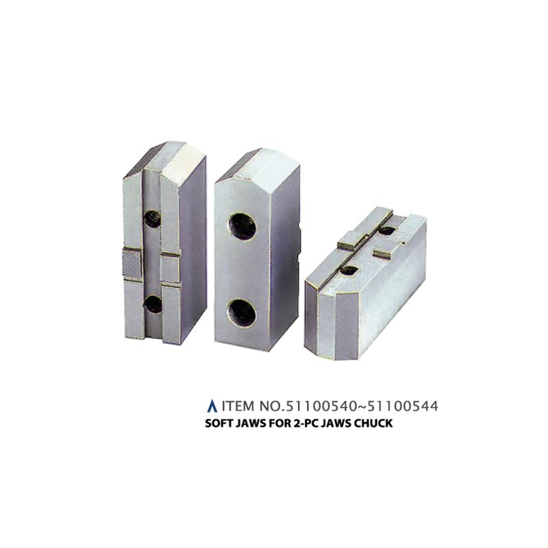 SOFT JAWS FOR 2PC JAW CHUCK