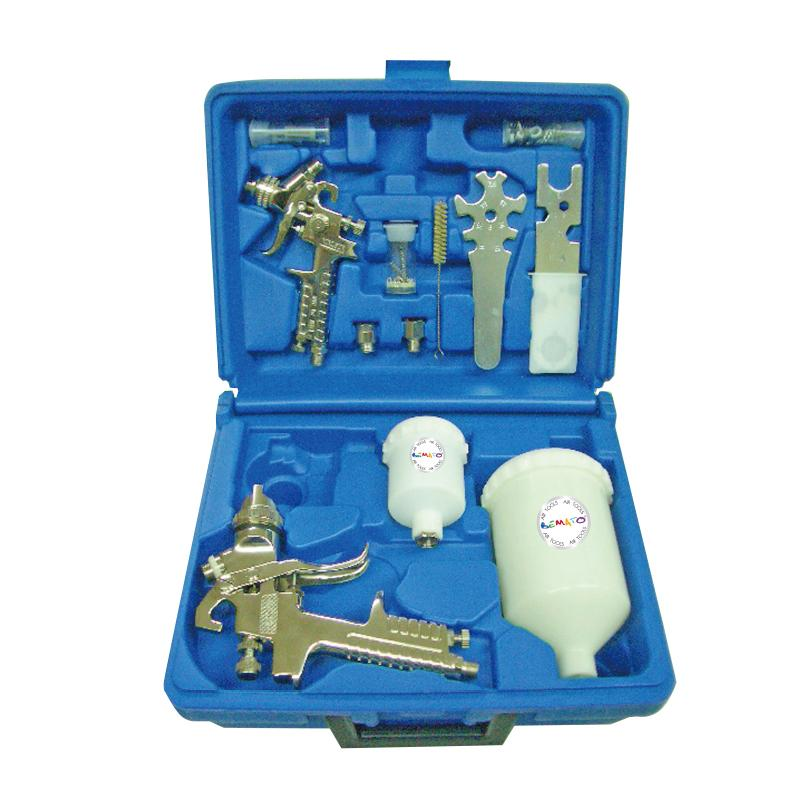 GRAVITY FEED AIR SPRAY GUN KIT