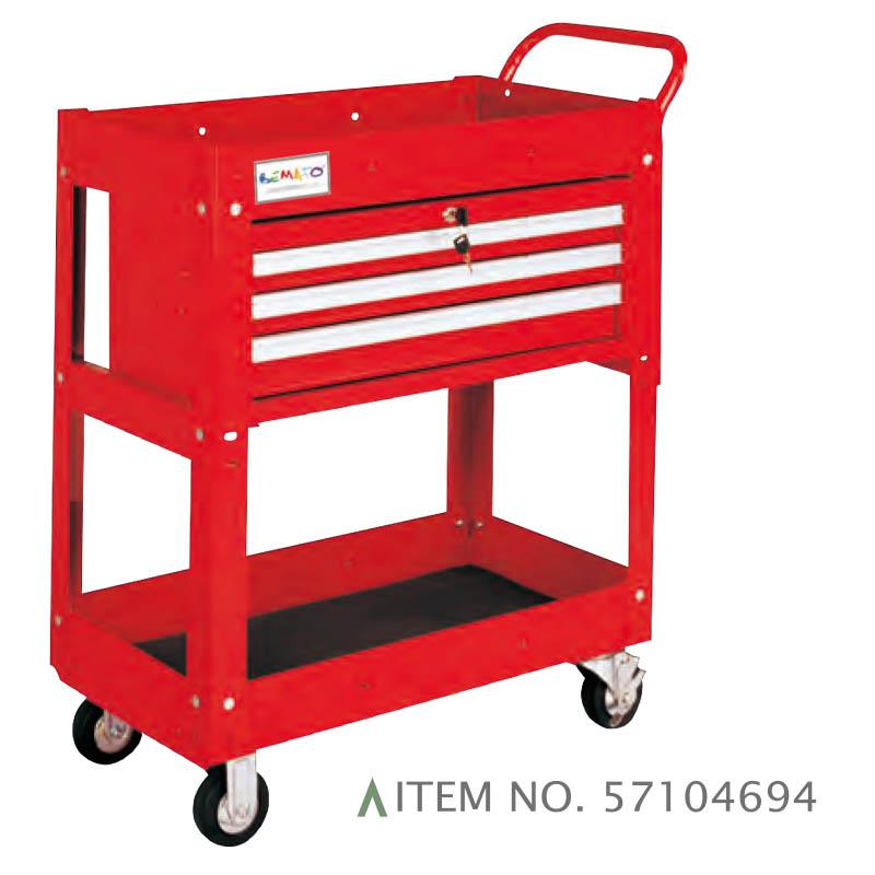 3-DRAWER TROLLEY BALL BEARING SLIDES
