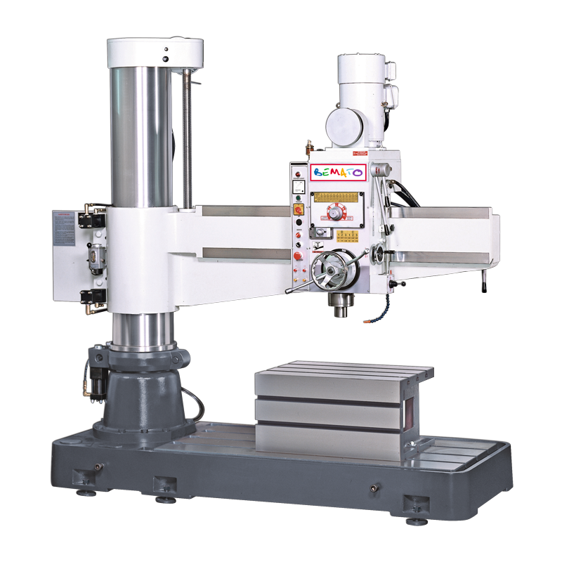 RADIAL DRILL (FLOOR TYPE, HYDRAULIC CLAMPING)