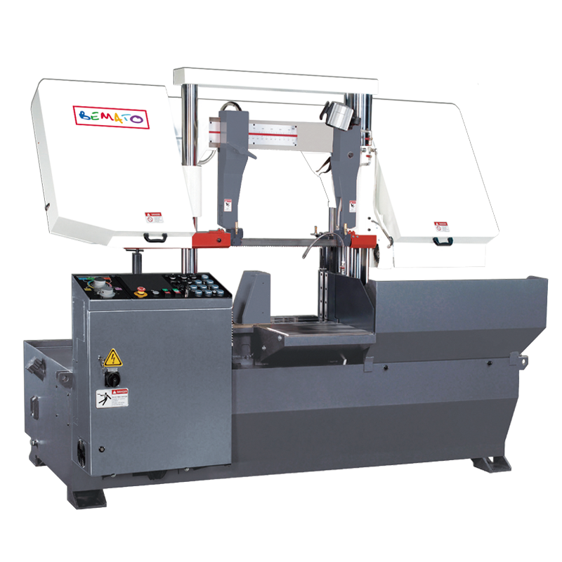 SEMI-AUTOMATIC DOUBLE COLUMN BANDSAW