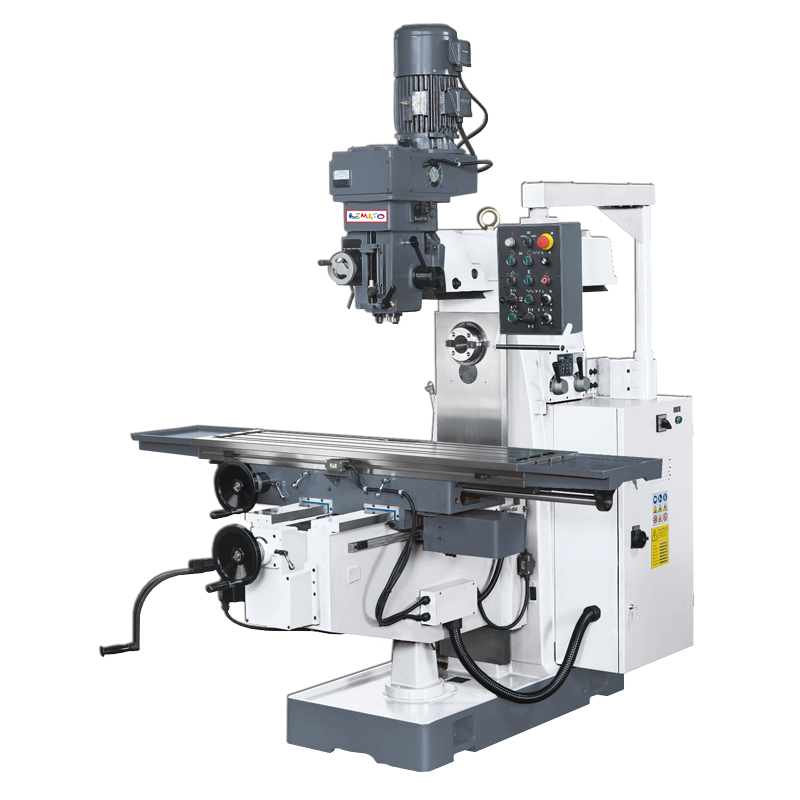 VERTICAL & HORIZONTAL MILLING MACHINE - KNEE TYPE