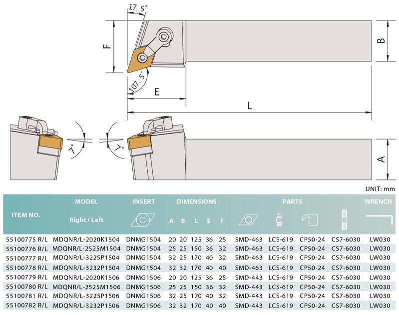 E1 - Turning tools -BEMATO - Benign Enterprise Co., LTD.