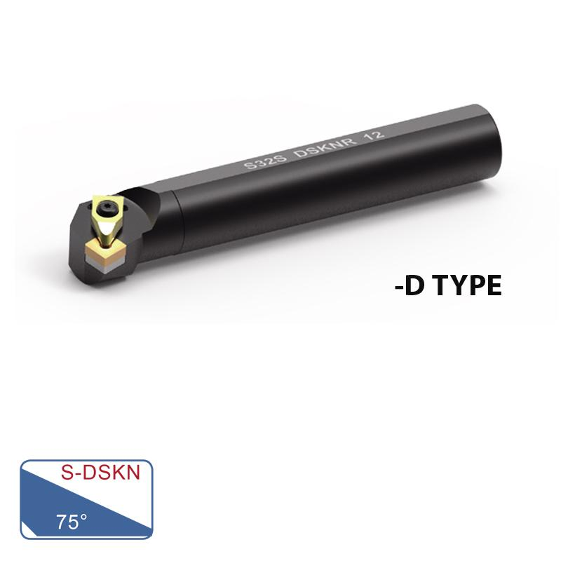 BORING BARS (S-DSKN 75° D-TYPE)